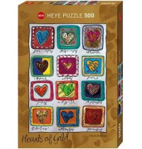 Heye - Hearts Year of Love, 500 Teile