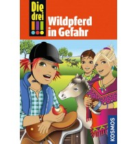 KOSMOS - Die drei !!!  - Wildpferd in Gefahr, Band 55
