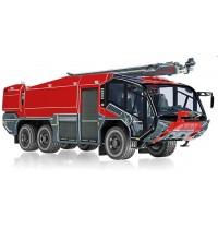 Wiking - Feuerwehr - Rosenbauer FLF Panther 6x6 mit Löscharm