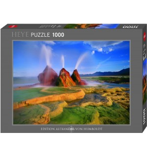 Heye - Standardpuzzle - Fly Geyser, 1000 Teile