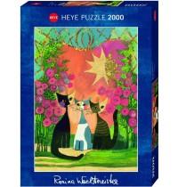 Heye - Standardpuzzle - Roses, 2000 Teile