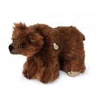 Teddy-Hermann - Miniaturen Mohair - Braunbär, 10 cm