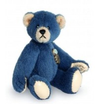 Teddy-Hermann - Miniaturen - Teddy blau, 6 cm