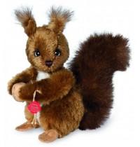 Teddy-Hermann - Mohairtiere - Eichhörnchen, 17 cm