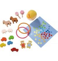 HABA® - Little Friends - Puppenhaus Spielset Lieblingsspielsachen