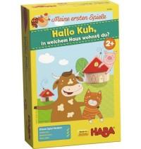 HABA® - Meine ersten Spiele - Ene, mene, muh, in welchem Haus wohnst du?