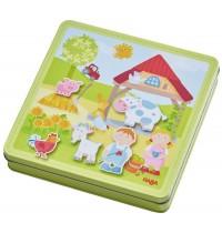HABA® - Magnetspiel-Box Peters und Paulines Bauernhof