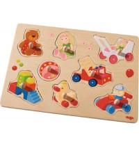 HABA® - Greifpuzzle Meine ersten Spielzeuge, 8 Teile
