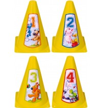 Die Spiegelburg - Pylonen-Set Die Lieben Sieben