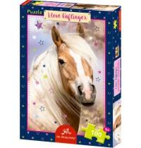 Die Spiegelburg - Boxpuzzle I love Haflinger Pferdefreunde, 100 Teile