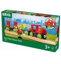 BRIO Bahn - Bunter Clown-Zug