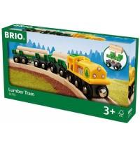BRIO Bahn - Holz-Transportzug