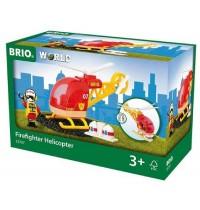 BRIO Bahn - Feuerwehr-Hubschrauber