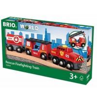 BRIO Bahn - Feuerwehr-Löschzug