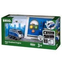 BRIO Bahn - Batterielok Blauer Oskar mit APP Steuerung