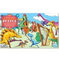 eeBoo - Puzzle - Dinos in der Freizeit