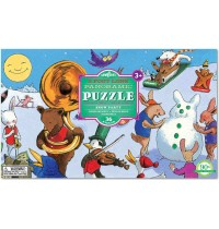 eeBoo - Puzzle - Party im Schnee