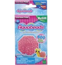 Aquabeads - Refill - Glitzerperlen, pink