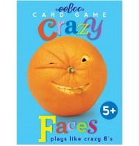 eeBoo - Verrückte Gesichter Spielkarten