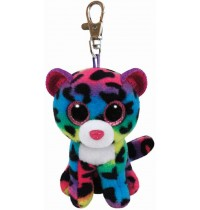 Ty Plüsch - Beanie Boos Glubschis Clip - Dotty, Leopard bunt 8.5cm