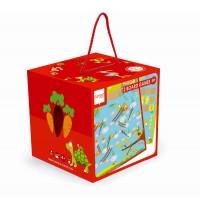 Scratch - 2 Spiele Garten - Leiterspiel/Ludo