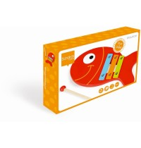 Scratch - Holzxylophone Fisch