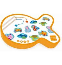 Scratch - Angelspiel Lustige Fische, magnetisch