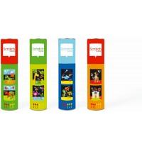 Scratch - Dartspiel Zoo, klein, magnetisch