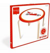 Scratch - Runder Tisch Racer Ø60x45.5cm