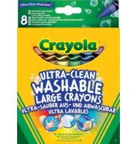 Crayola - Ultra Clean aus- und abwaschbare Wachsmalstifte