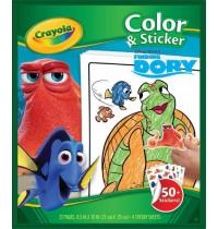 Crayola - Findet Dorie - Color und Stickerbook