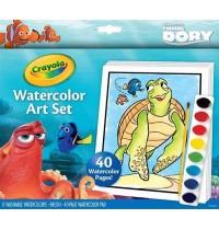 Crayola - Findet Dorie - Wasserfarbenmalset