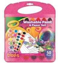 Crayola - Trolls - Malkoffer mit auswaschbaren Farben