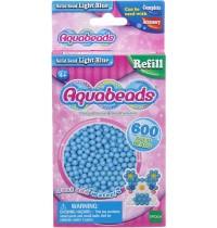 Aquabeads - Refill - Perlen, hellblau
