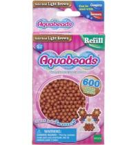 Aquabeads - Refill - Perlen, hellbraun
