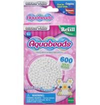 Aquabeads - Refill - Perlen, weiss