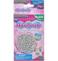 Aquabeads - Refill - Perlen, grau