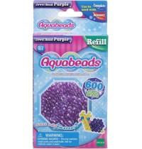 Aquabeads - Refill - Glitzerperlen, lila