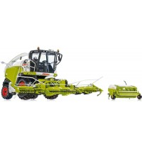 Wiking - Claas Jaguar 860 Feldhäcksler mit Orbis 750 und Pick up 300