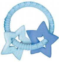 Die Spiegelburg - Beißring BabyGlück, hellblau (mit 2 Sternen)