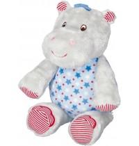 Die Spiegelburg - Spieluhr Hippo BabyGlück, hellblau