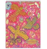 eeBoo - Sketchbook, Goldene Vögel