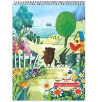 eeBoo - Sketchbook, Spazieren am See