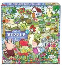 eeBoo - Puzzle - Einen Garten anlegen, 64 Teile