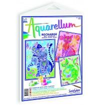 SentoSphere - Aquarellum - Nachfüllpack Katzen