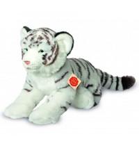 Teddy-Hermann - Collection Wildtiere - Tiger weiß liegend, 40 cm