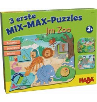 HABA® - 3 erste Mix-Max-Puzzles - Zoo
