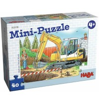 HABA® - Mini-Puzzle Baustelle