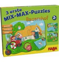 HABA® - 3 erste Mix-Max-Puzzles - Bauernhof