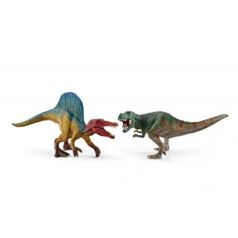 Schleich - Dinosaurier - Mini Dino - Spinosaurus und T-Rex ...
